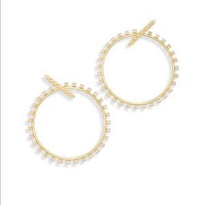 Kendra Scott Charlie Grace Hoop Earrings
